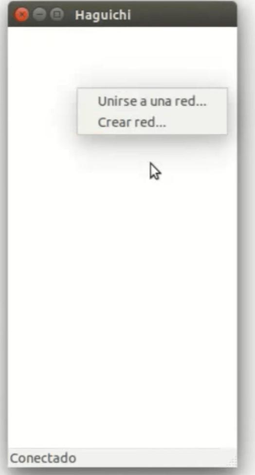 Crear o unirse a una red Linux